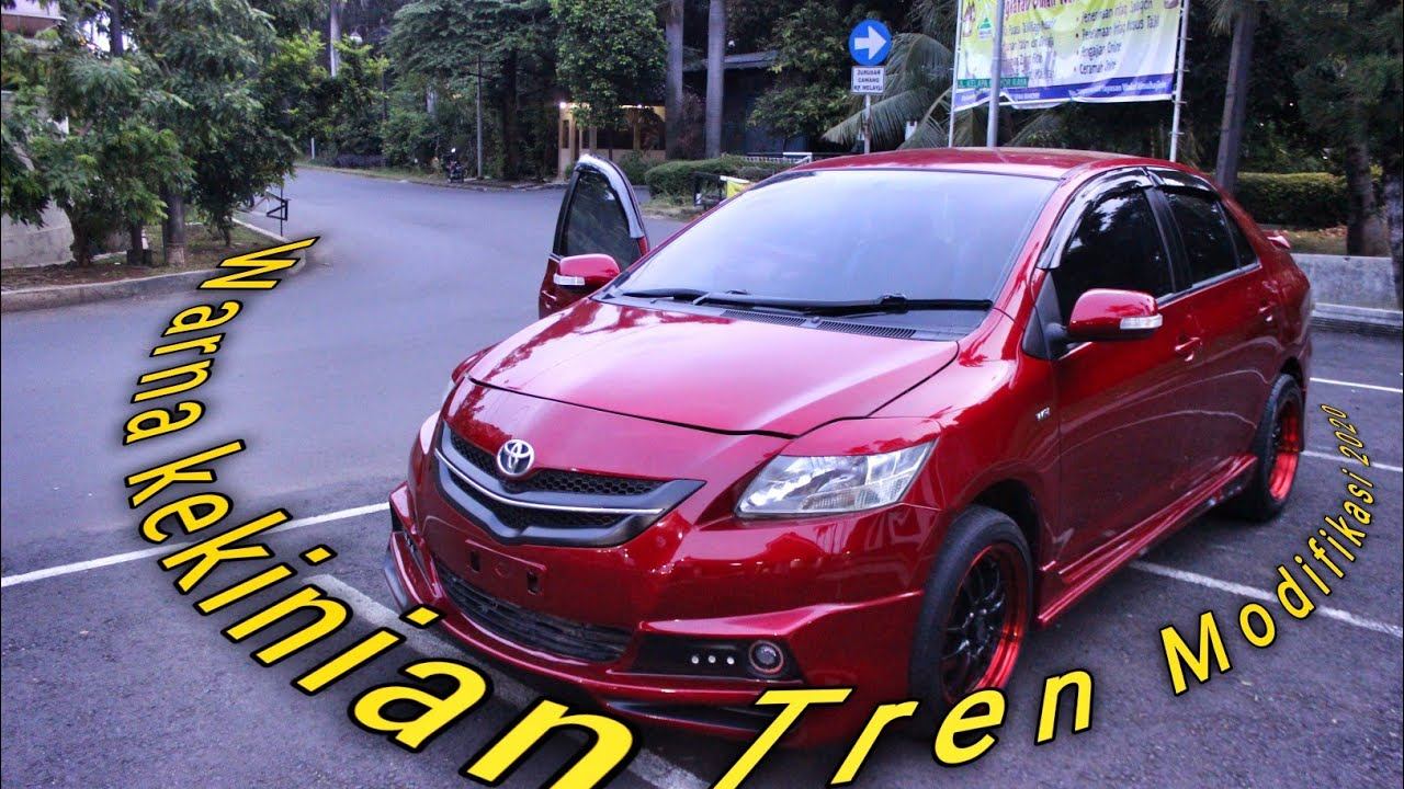 RINCIAN UPGRADE VIOS LIMO 2012 RED CANDY MODIFIED