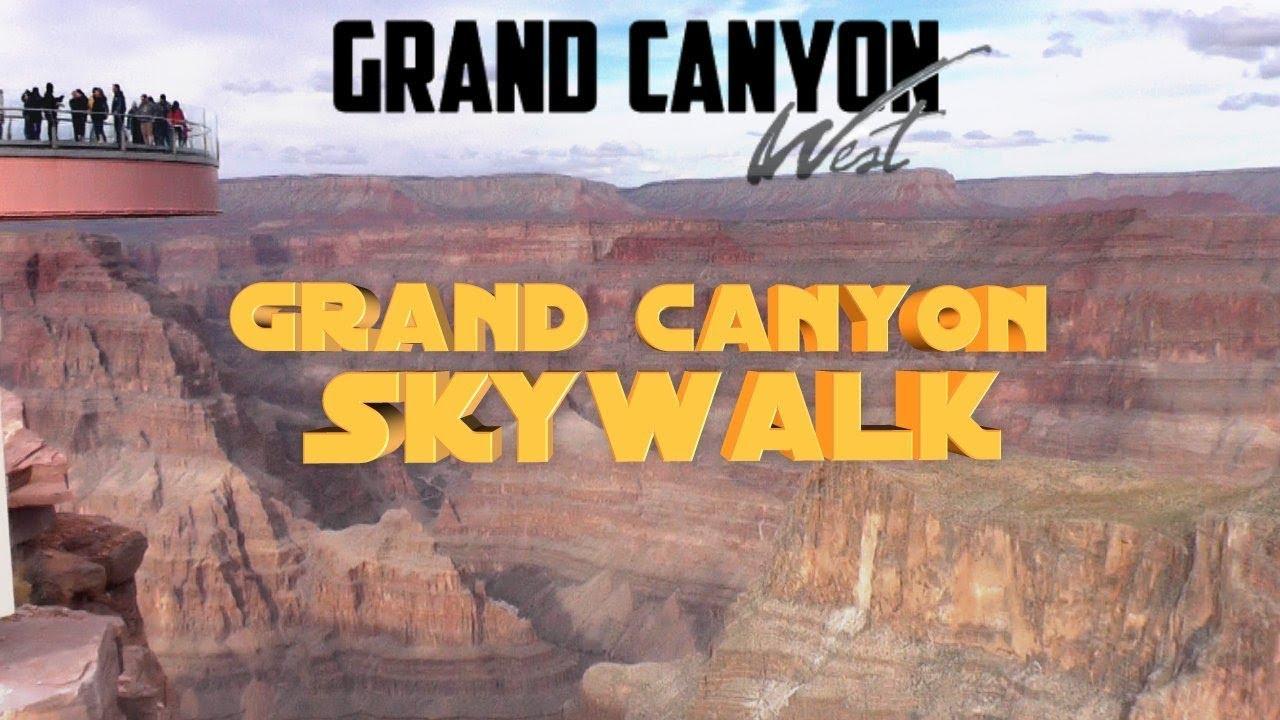 Grand Canyon West Skywalk And Eagle Point Arizona Usa