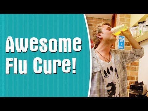 The World's Best Flu Cure? A Natural, Home Remedy for Cold & Flu