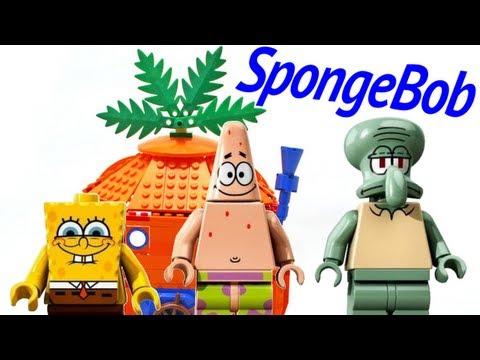 LEGO Good Neighbors at Bikini Bottom 3834 SpongeBob SquarePants Review - BrickQueen
