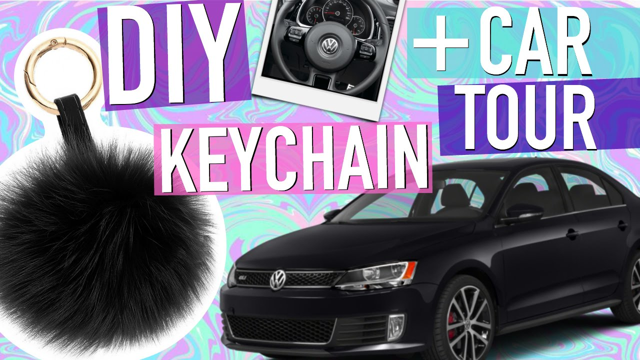 diy tumblr keychain car tour youtube. Black Bedroom Furniture Sets. Home Design Ideas