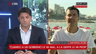"""Video: Urtubey en Mar del Plata """"Los argentinos quieren un cambio en serio"""""""