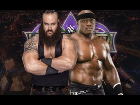WWE Bobby Lashley Teaming with Braun Strowman at WrestleMania 34 BREAKING NEWS BACKSTAGE