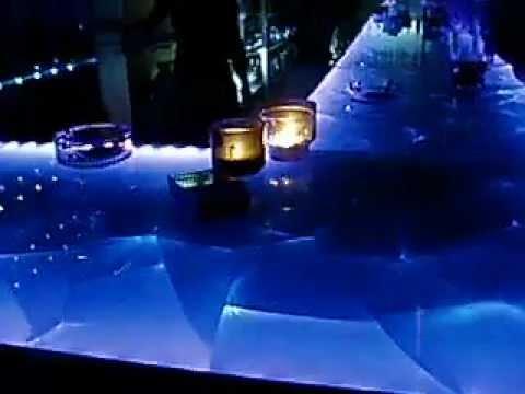 Barra De Cristal Para Pub Discoteca Youtube