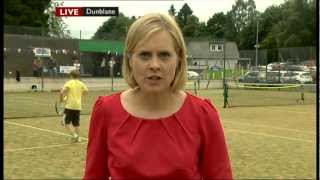 Where Andy Murray Began - BBC News Report