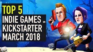 Baixar Top 5 Best Looking Games on KickStarter - March 2018