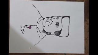 How To Draw Jawaharlal Nehru