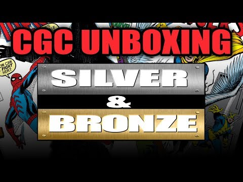 CGC Unboxing: Marvel comics from the Silver Age & Bronze Age