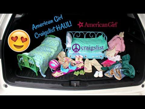HUGE American Girl Doll Craigslist HAUL!!😱