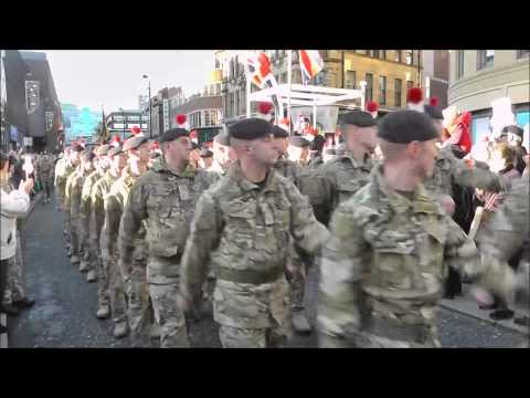 1st FUSILIERS HOME COMING PARADE (NEWCASTLE)