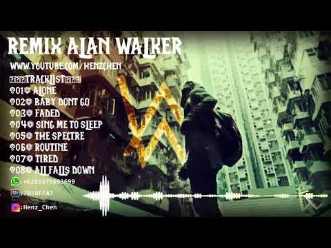 FULL DJ ALAN WALKER (( BREAKBEAT 2018 ))