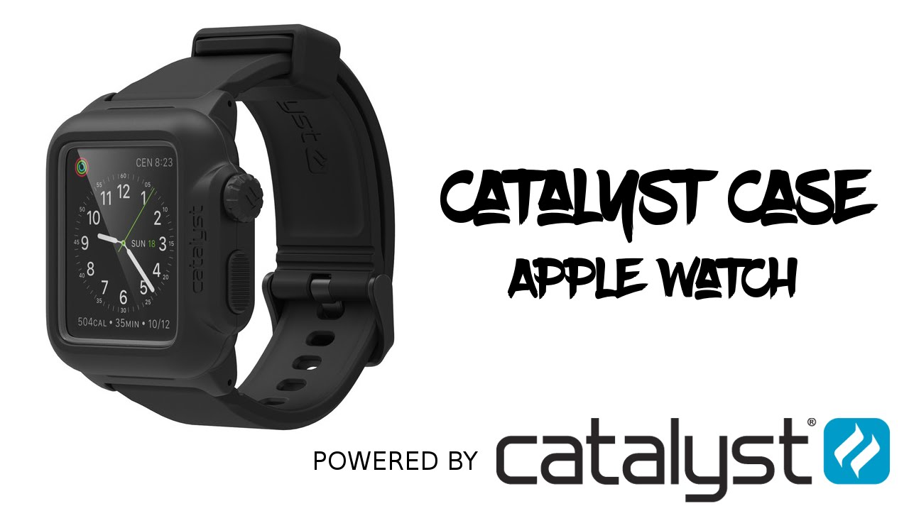 quality design 5ee12 abc85 Catalyst Case for Apple Watch (UNBOXING & REVIEW)