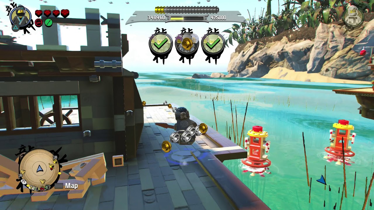 how to start play lego ninjago movie game