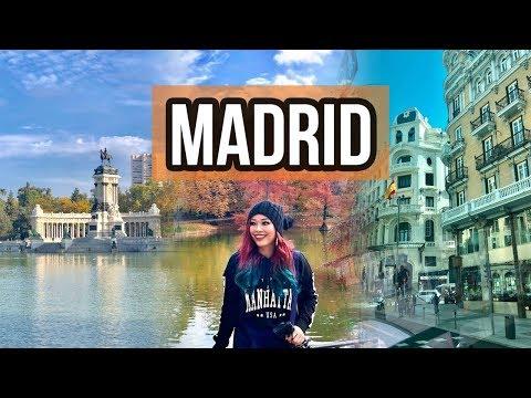 🇪🇸MADRID, Spain| Gran Vía, Retiro Park, Crystal Palace, Flamenco, Food (Travel Vlog)