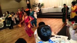 Bhangara Performance @ Sartaj's Reception