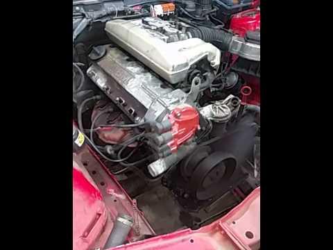 Bmw e30 m40b18 motor startet schlecht läuft nicht richtig ...