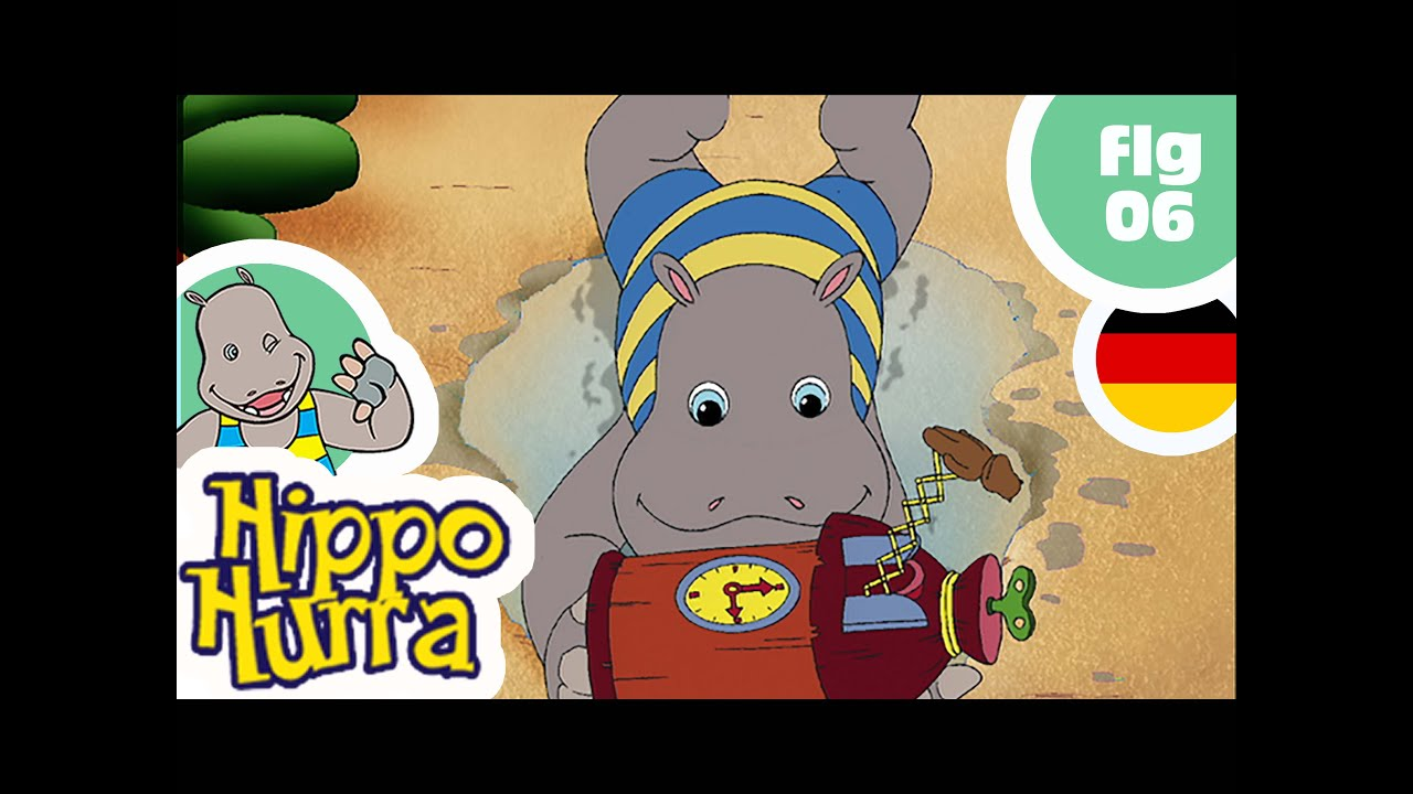 HIPPO HURRA DEUTSCH - EP06 - Der Kokosnuß-Club - YouTube