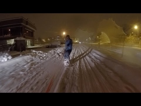 Snowboarding Erzurum City