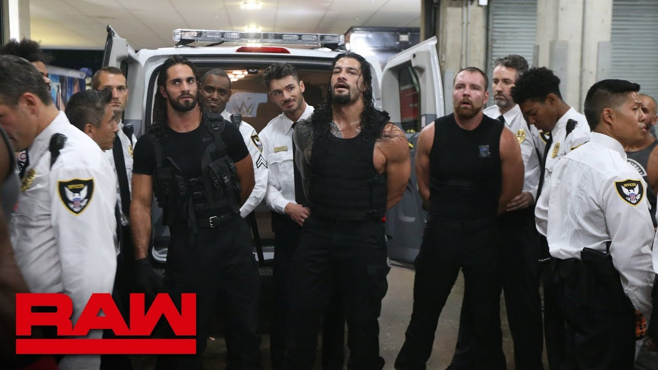 Download The Shield are arrested: Raw, Sept. 3, 2018