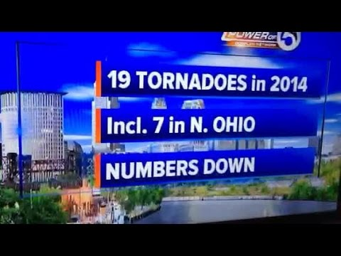 Low tornado numbers for U.S.