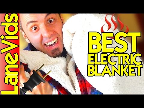 🔌 BEST ELECTRIC BLANKET? ♨️ | Biddeford Electric Heated Blanket Review | LaneVids