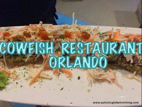 SAVORING BURGUSHI  At CowFish Restaurant Universal CityWalk  Orlando