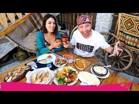 Unforgettable ARMENIAN FOOD Experience + Smoking Fish the Traditional Way! | Etchmiadzin, Armenia