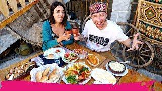 Unforgettable ARMENIAN FOOD Experience + Smoking Fish the Traditional Way! | Etchmiadzin, Armenia