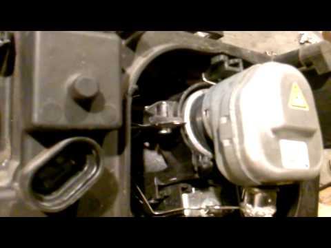 xenon BMW e46 - renowacja lampy ZKW
