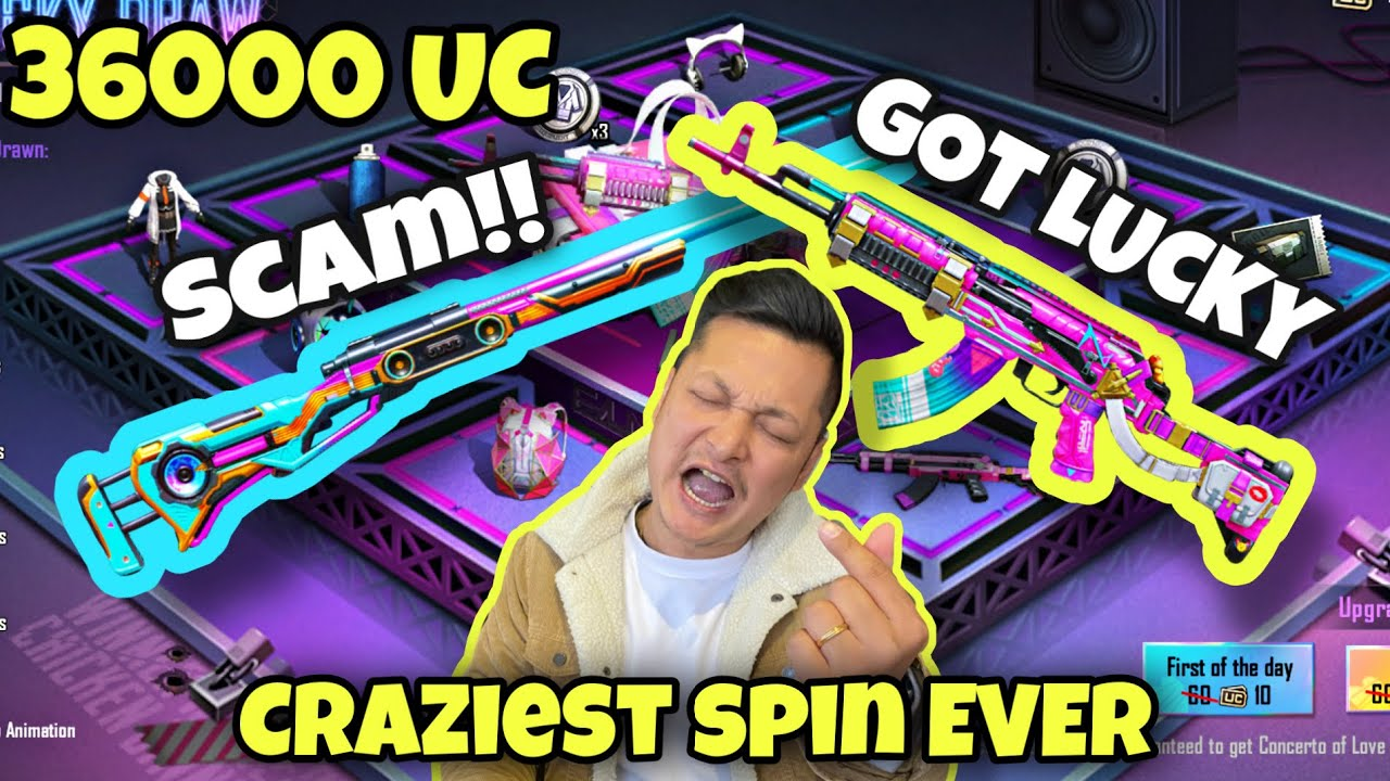 Download 36000 UC || UPGRADING ALL MY GUNS || BIGGEST CRATE OPENING EVER || DAY SAVED by MR. PIKANDIP🦸🏻♂️||