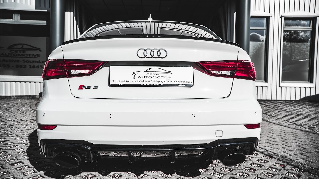 Audi RS3 Limousine 2017 Sound Teil 1👍Audi RS3 Sedan👍Active ...