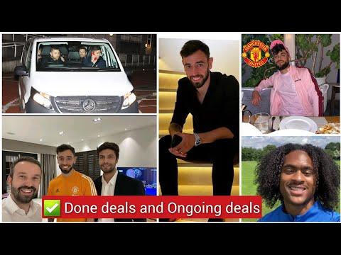 ✅ Confirmed   Man United star joins the Blues, Bruno Fernandes update after Sancho signing,Brandon..