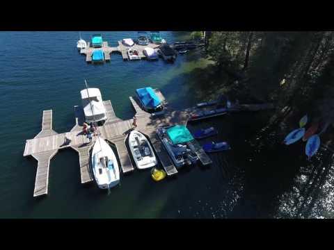 Huntington Lake Aerial Footage (2016)