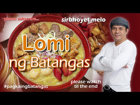 Lomi ng Batangas