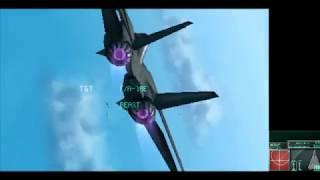 Ace Combat 3D - Beast Squadron Boss Battle (Hunting Season)