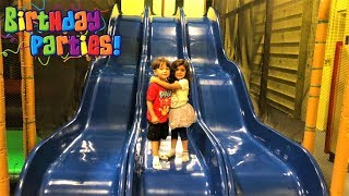 Fun Indoor playground birthday party for children!! family fun