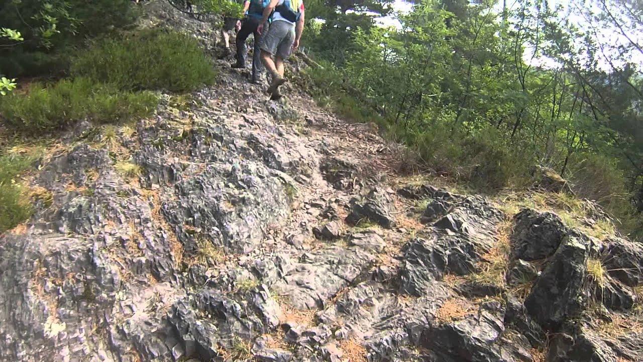Klettersteig Walchensee : Klettersteig karlsruher grat youtube