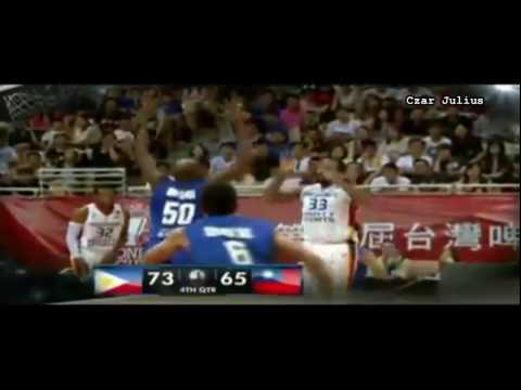 Jones Cup 2016:Philippines vs Chinese -Taipei 4th Quarter Highlights