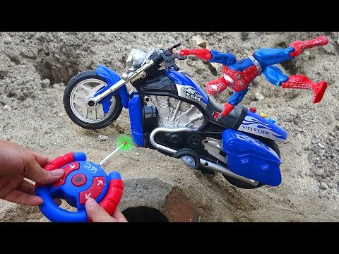 Spiderman car, Construction Vehicle, Airplane, Fire Truck - I26M Toys For Kids