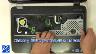 Dell Inspiron 17R (5720 / 7720) CPU Cooling Fan Replacement Video Tutorial