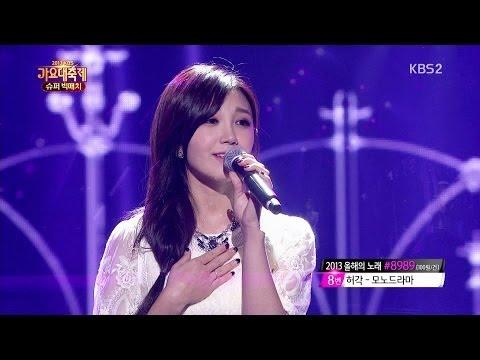 [HD] 131227 APink's Eunji (w/ BEAST's Yoseob) - When I First Saw You