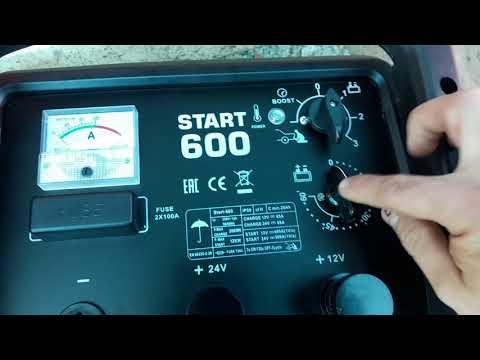 Обзор Пуско-зарядное устройство Aurora START 600