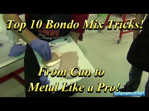 Top 10 Bondo Mix Tricks For Success From Can to Car