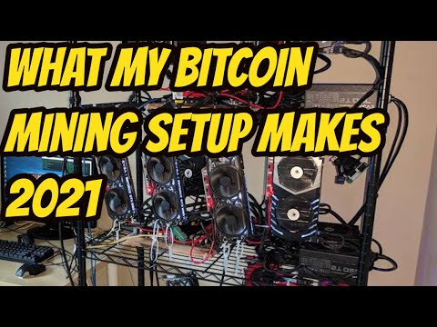 How Much I Make Mining Bitcoin 2021