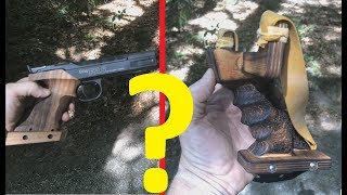 Airgun vs. Slingshot: Accuracy? Ergonomics? Power?