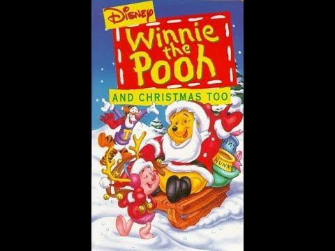 Winnie The Pooh And Christmas Too.Opening To Winnie The Pooh And Christmas Too 1995 Vhs