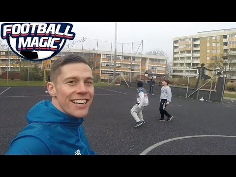 Playing FOOTBALL on ZLATAN COURT!! Malmö Vlog!!