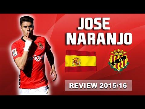 José Naranjo  || All 16 goals ► Gimnàstic de Tarragona 2015/16