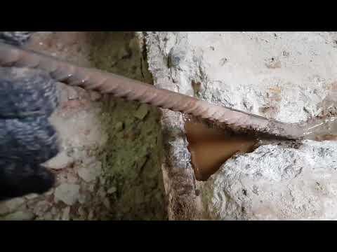 Как сломать бетон