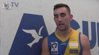 Adam Marcon Round 6 post-match
